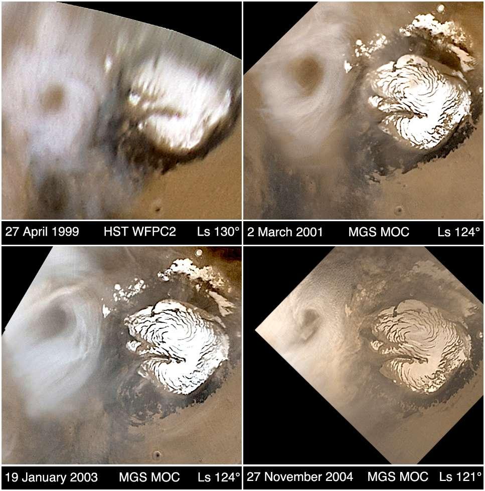 Mars Global Surveyor : 8 ans autour de Mars
