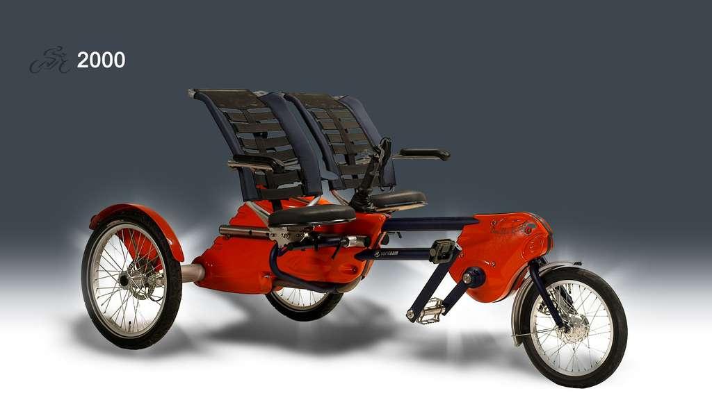 2005 : un tandem tricycle
