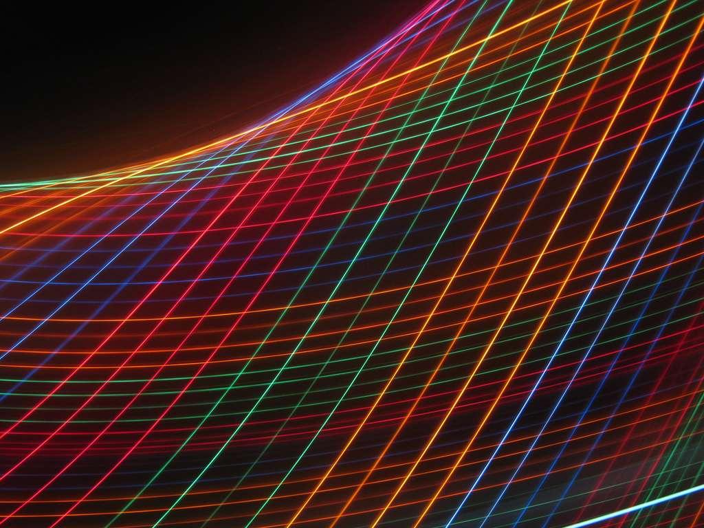 Des Led ont été utilisées dans la réalisation de cette image abstraite. Ainsi, la technologie Led inspire aussi les artistes, en plus de trouver une utilité dans de nombreuses applications du quotidien. © Chínmay, Flickr, cc by nc sa 2.0