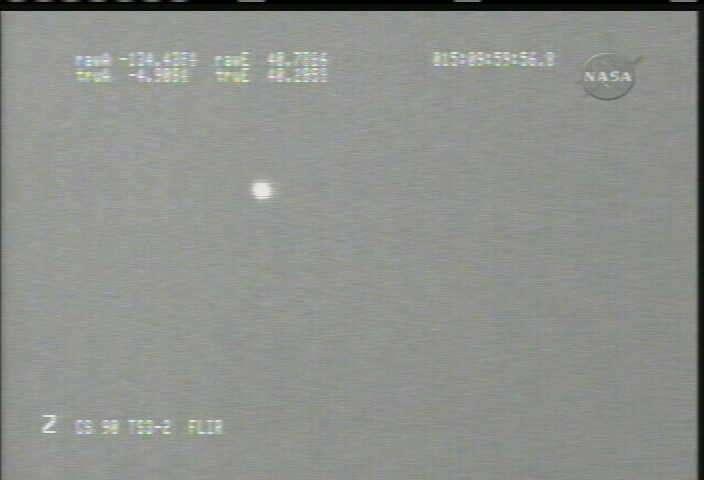 La capsule apparait sur les écrans de contrôle