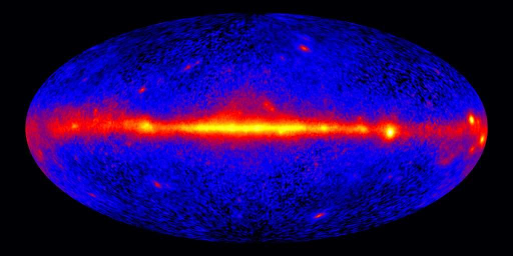 La Voie lactée dans le rayonnement gamma