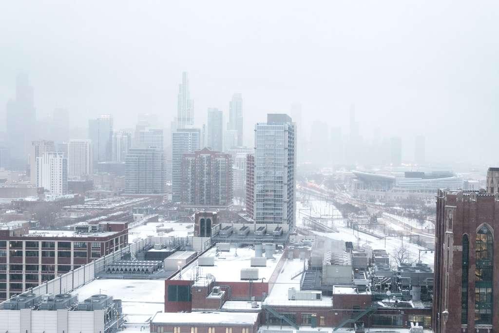 En 2019, Chicago a été touché par un « vortex polaire ». © Gary Meulemans, Unspalsh