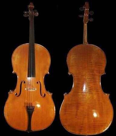 L'octuor de violoncelles de Beauvais, à voir sur scène ! À l'image, des violoncelles français Léon Bernardel 1923. © Domaine public