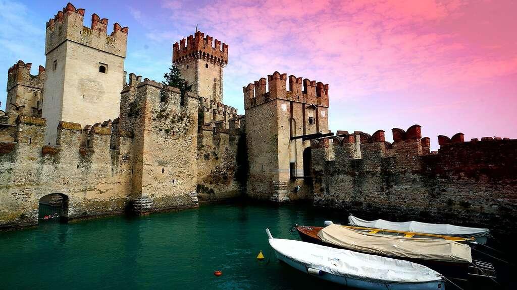 Le château Scaliger de Sirmione
