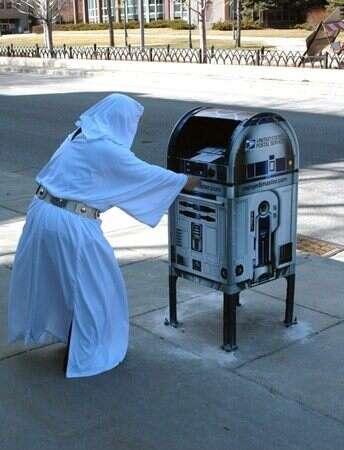 R2D2 a dû se recycler...