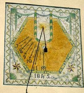 Cadran solaire, Arvieux. © DR