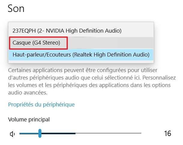 Choisissez votre appareil Bluetooth dans la liste proposée. © Microsoft