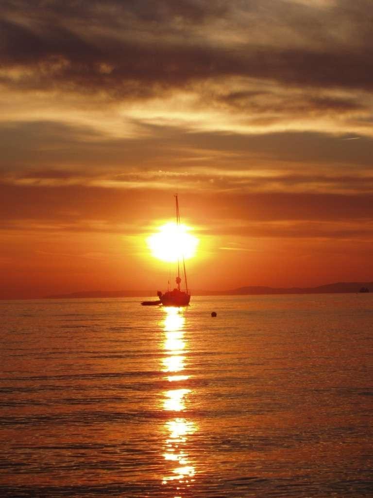 Lever de soleil à la presqu'île de Giens