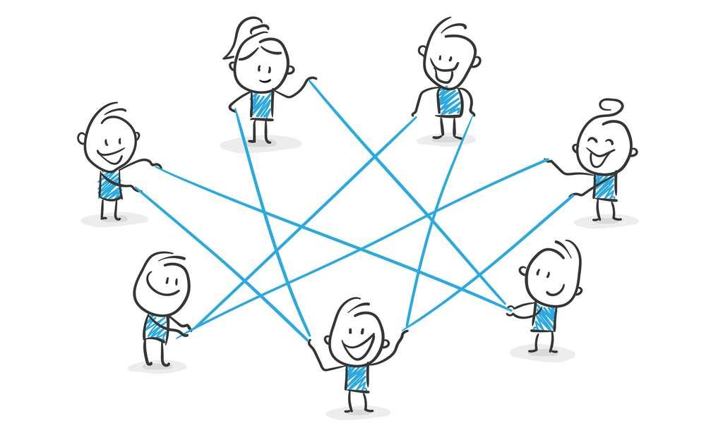 Recherche de la vérité, but commun, coopération, diffusion des informations : autant de techniques qui permettent de contrer le biais de confirmation. © strichfiguren.de, Adobe Stock