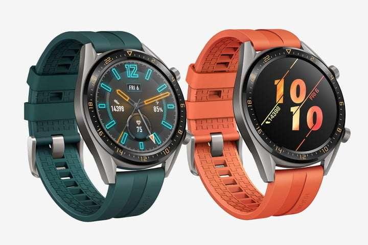 Les montres connectées de Huawei ressemblent à des montres classiques, avec deux semaines d'autonomie. © Huawei