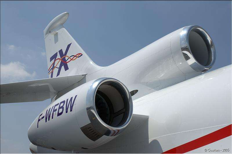 Falcon 7X - Salon du Bourget 2005