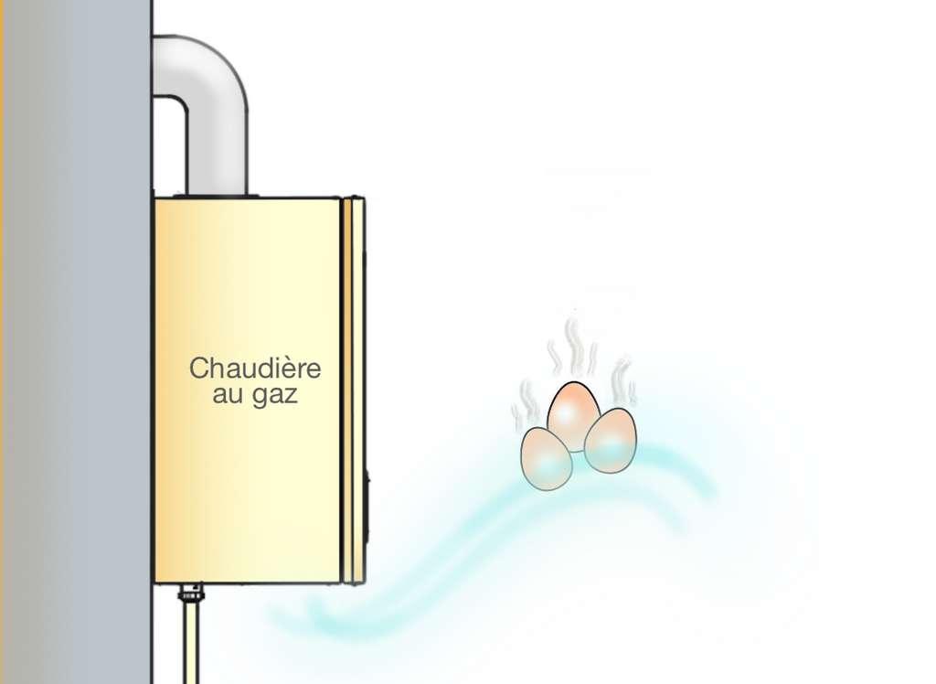 Une fuite de gaz se signale pour une odeur soufrée rappelant celle des œufs pourris. © Futura Maison, M.B.