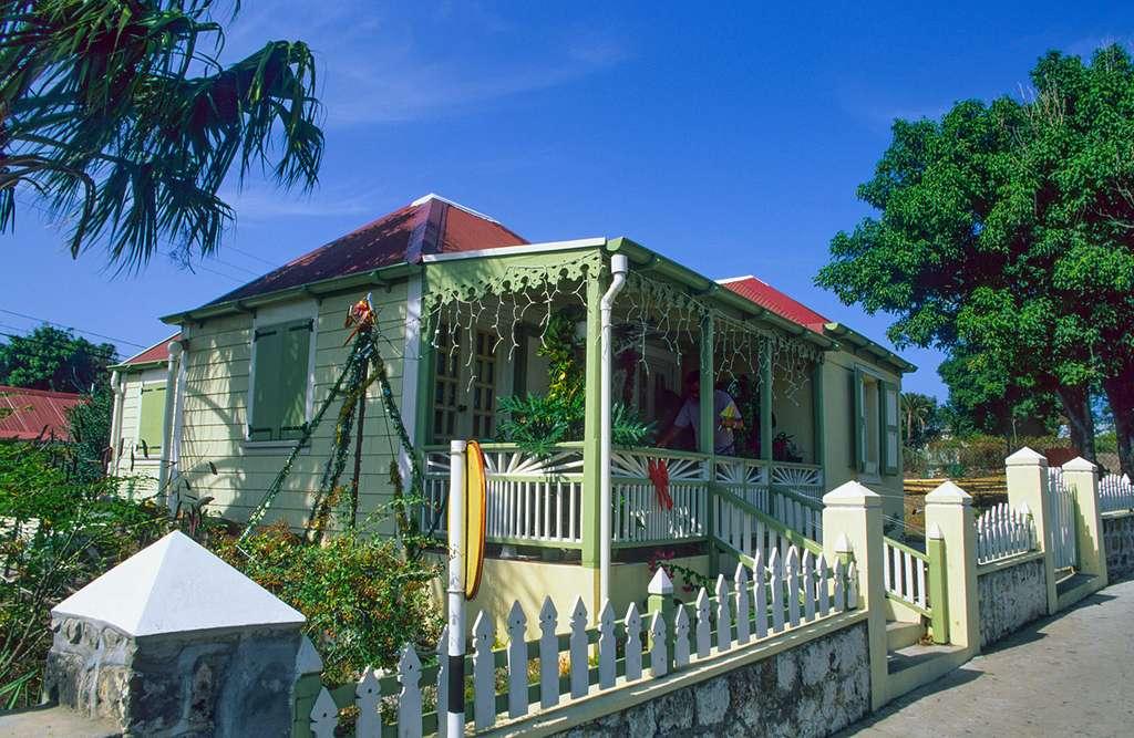 Case traditionnelle à Oranjestad. © Antoine, tous droits réservés