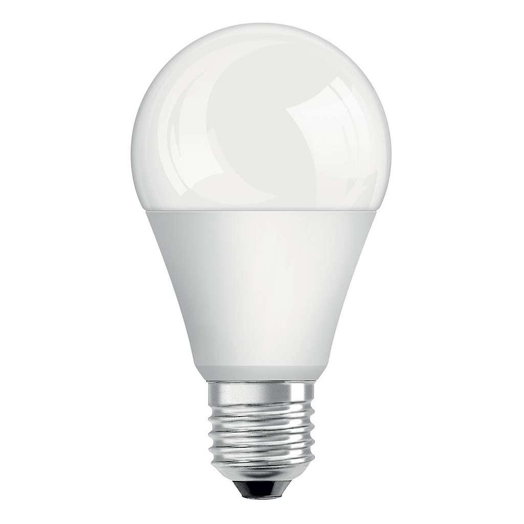 Les ampoules LED consomment moins que les ampoules fluocompactes et incandescentes. © Osram