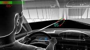 L'affichage tête haute améliore le confort du conducteur. © Citroën
