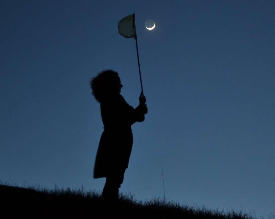 Chasse au croissant de Lune. © J.-B. Feldmann