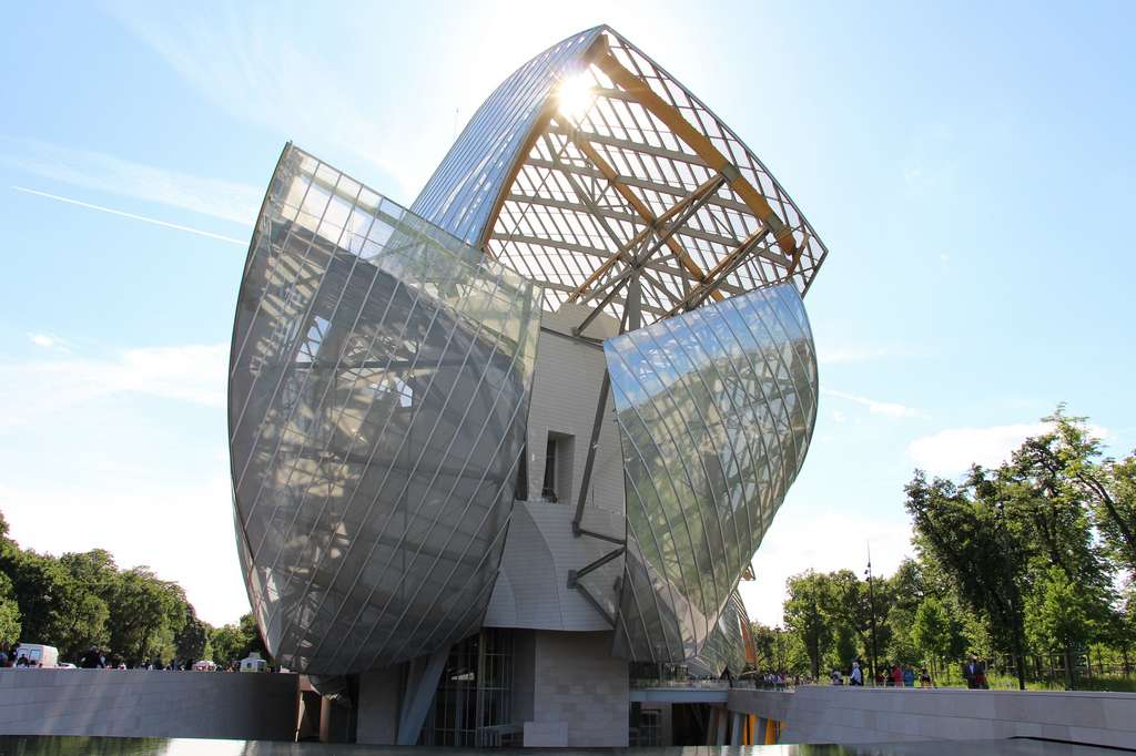 La Fondation Louis Vuitton à Paris. © Fred Romero, Flickr