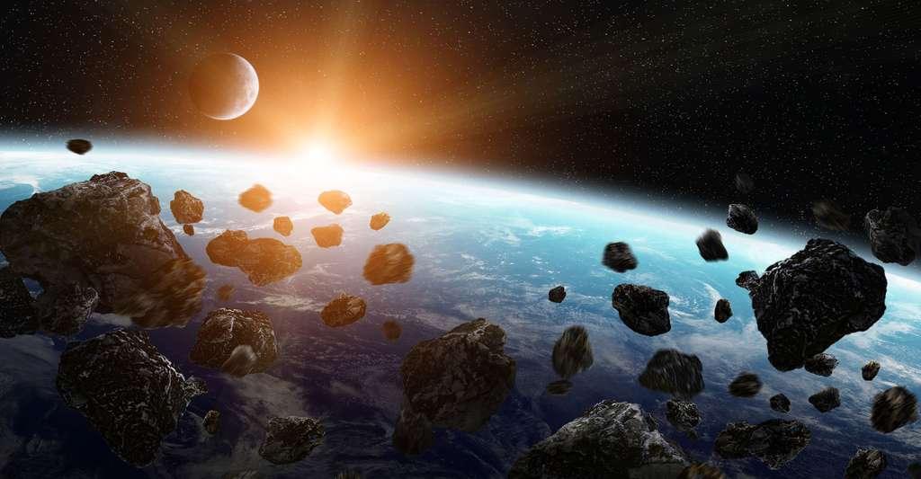 Impact de météorite. © Sdecoret, DP