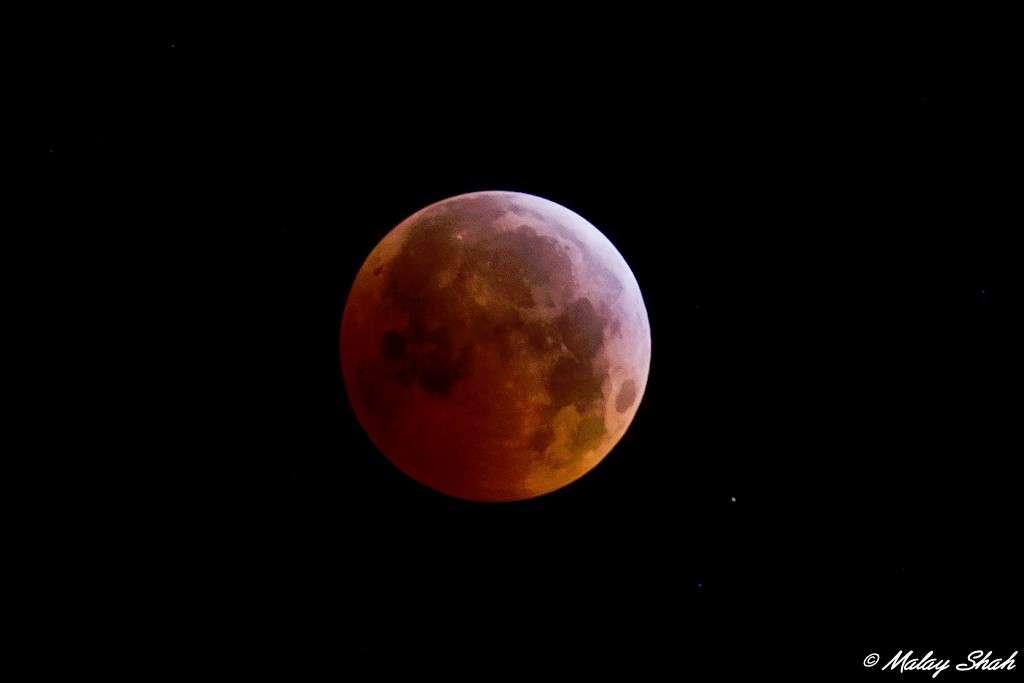 Éclipse de Lune du 21 décembre dernier. © Malay Shah