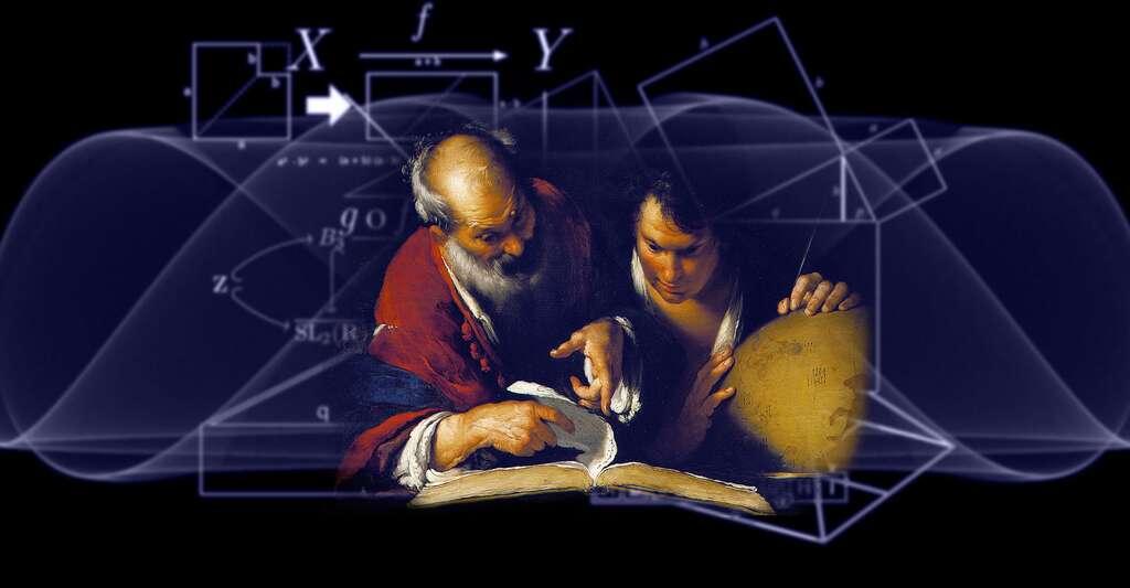 Ératosthène enseignant à Alexandrie. © Musée des Beaux-Arts de Montréal, Wikimedia Commons, DP