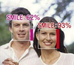 Mesurez votre indice de sourire… © Omron