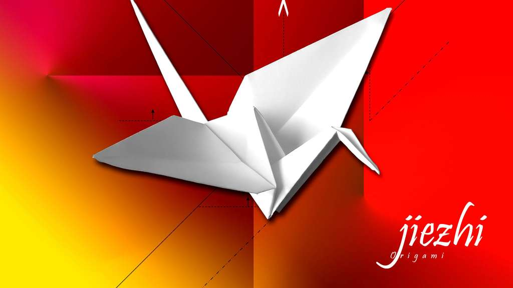 La grue, la plus célèbre représentation d'origami