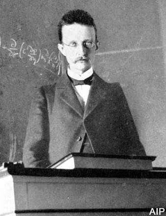 Max Planck (23 avril 1858 - 4 octobre 1947)