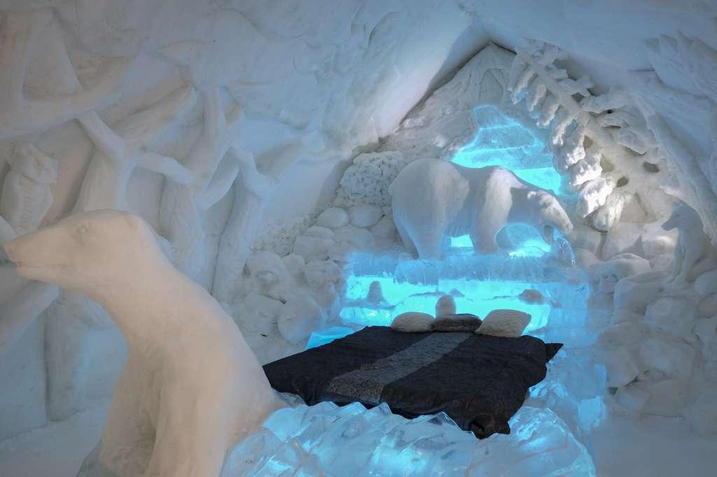 Un hôtel de glace au Canada