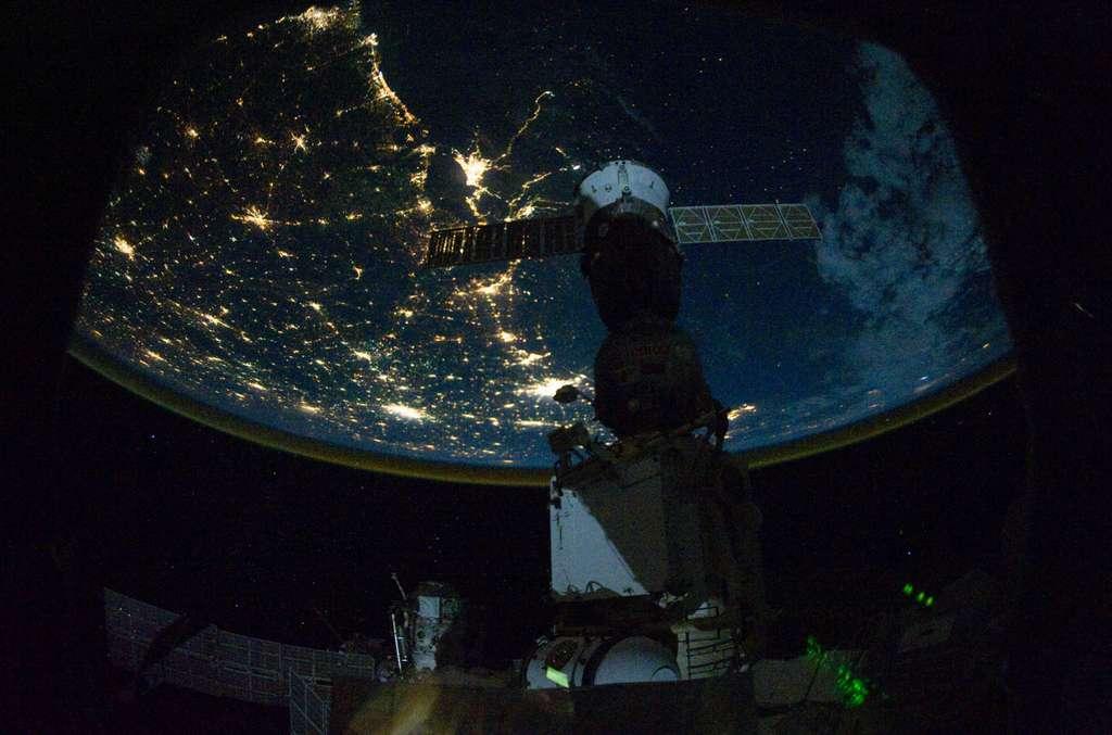 Image satellite du golfe du Mexique
