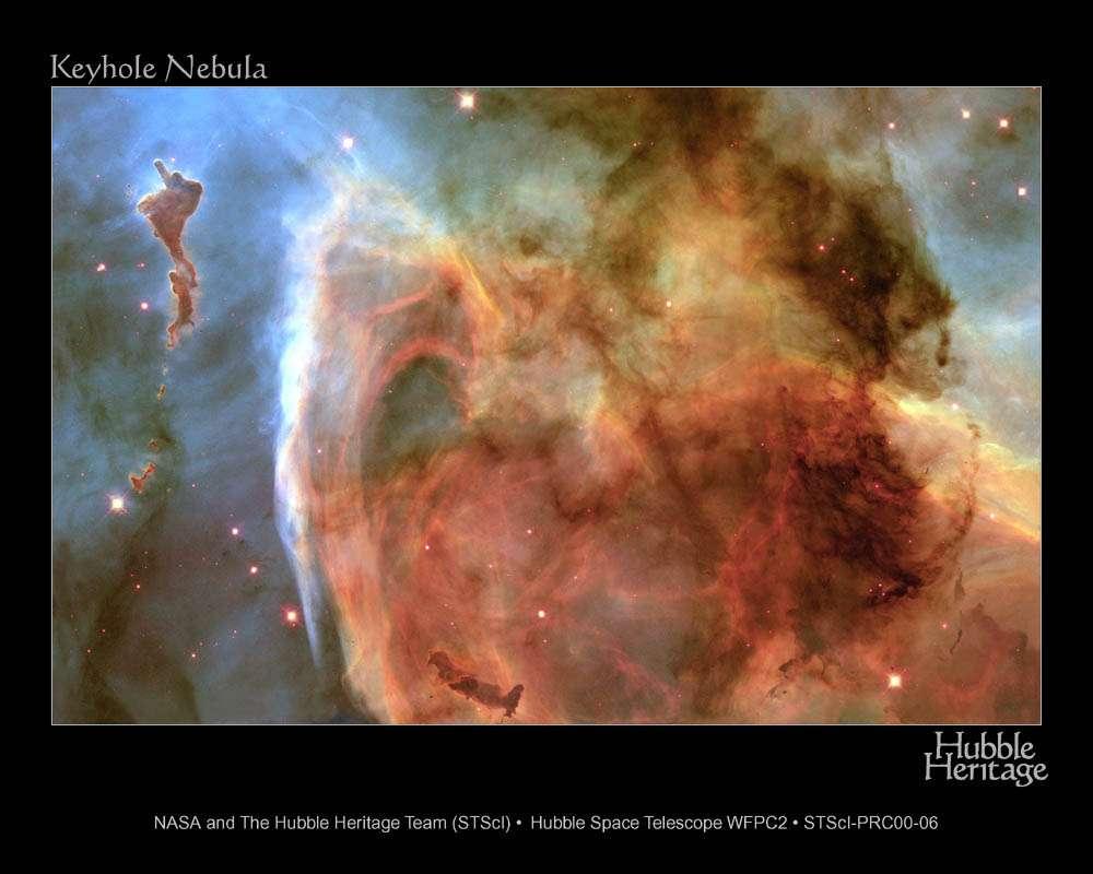 Hubble : Nébuleuse Keyhole