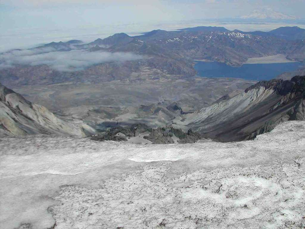 Etats Unis : Mont St-Helens