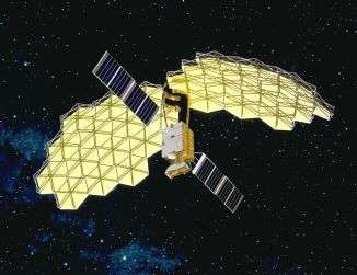 Le satellite ETS-VIII sera lancé le samedi 16 décembre prochain. Crédits : http://jda.jaxa.jp