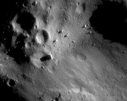 Surface d'Eros 5