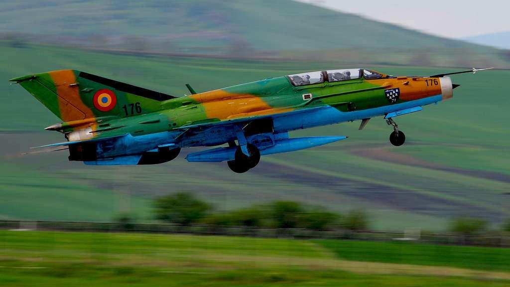 Le Mikoyan-Gourevitch MiG-21, un avion à réaction soviétique