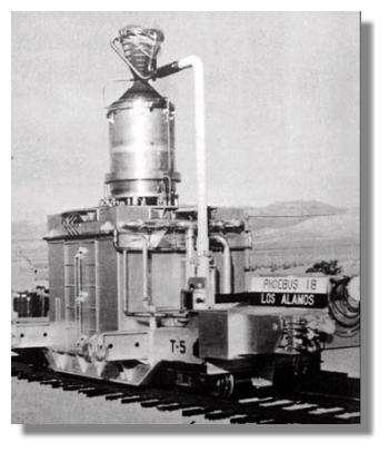Années 60 : prototype sur son site d'essai. Crédits : NASA