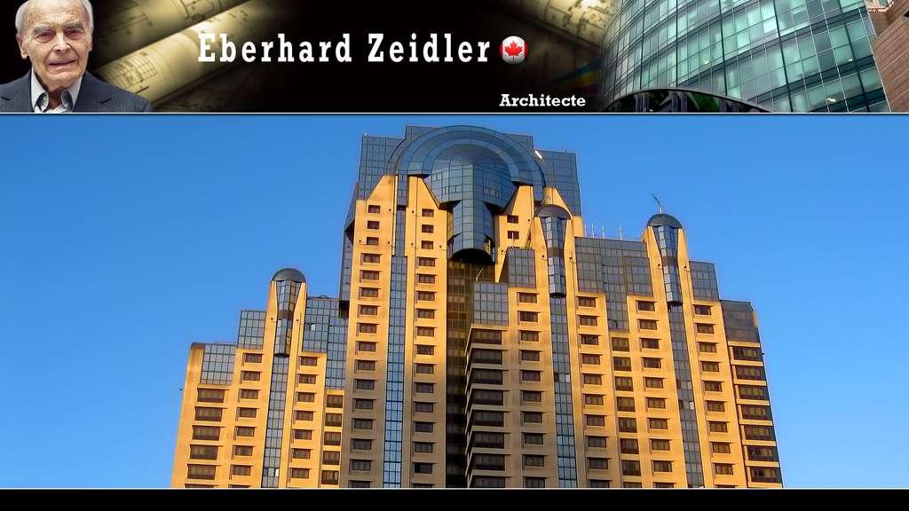 Le San Francisco Marriott, un hôtel de luxe, par Eberhard Zeidler