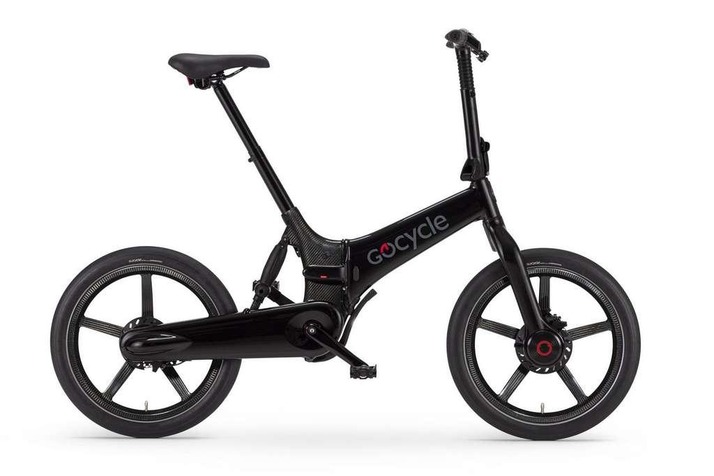 Le nouveau Gocycle G4i+ bénéficie d'une suspension intégrée au tube de direction. © Gocyle
