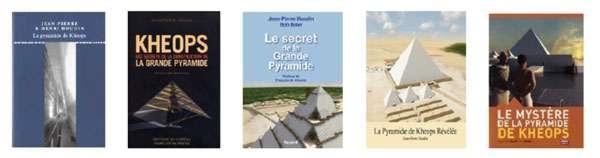 Jean-Pierre Houdin a consacré plusieurs ouvrages à la grande pyramide de Gizeh. © DP