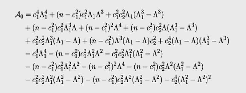 Figure 2 - Cette équation fortement complexe a une signification à la fois en biologie et en finance. © Julien Riposo - Tous droits réservés