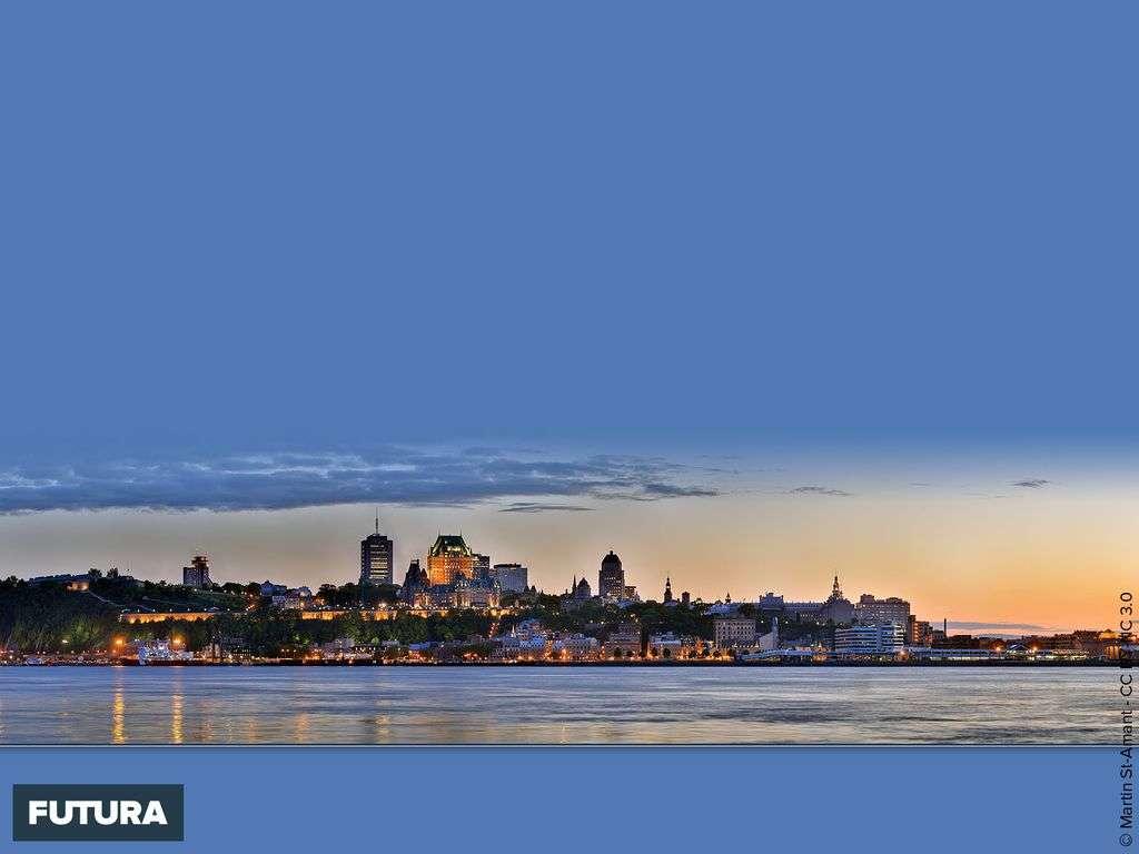 Panorama de la Ville de Québec - Canada