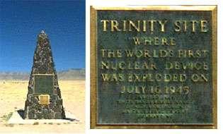 Mémorial du site de Trinity