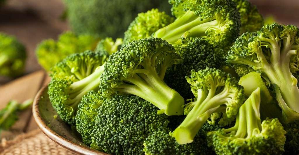 Les brocolis crus sont une source de vitamines. © Brent Hofacker, Shutterstock