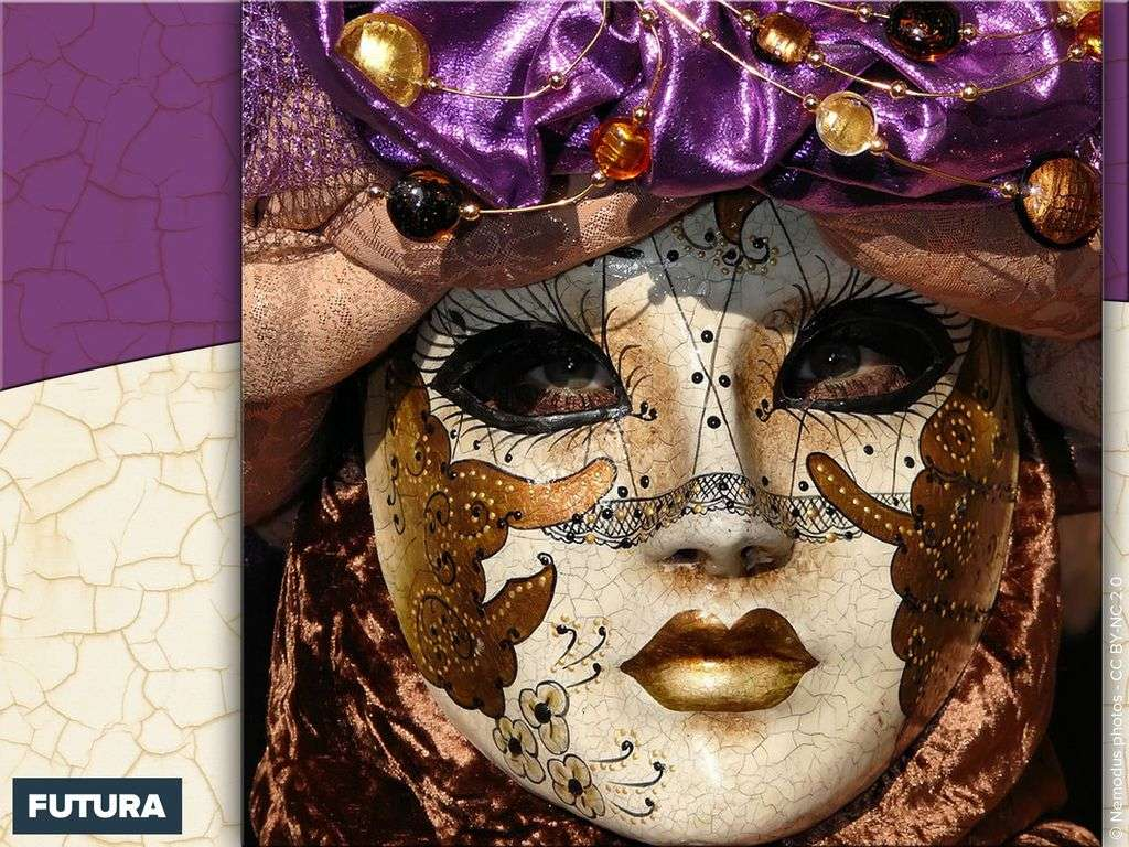 Carnaval de Venise couleur nature