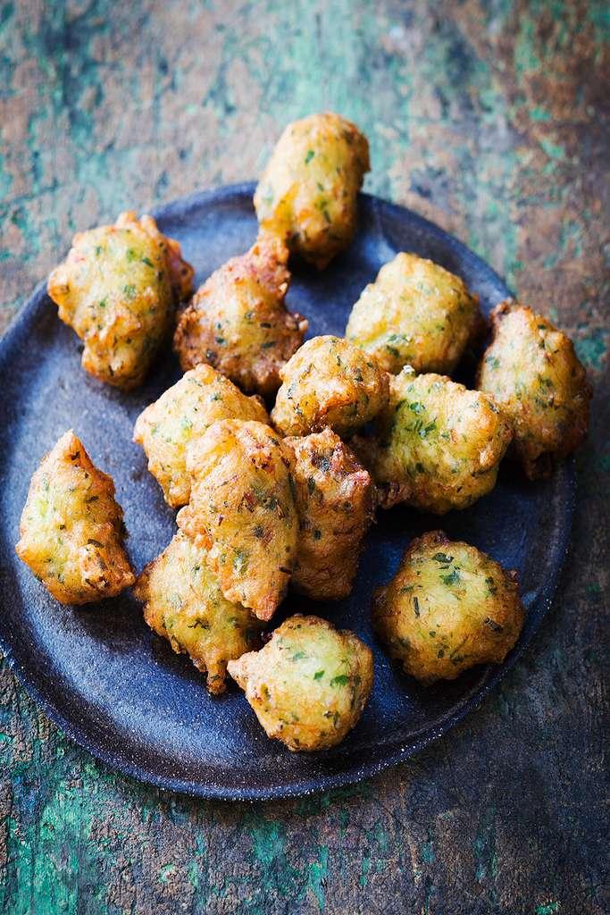 Délicieux acras de morue croustillants, une recette des Antilles © Amélie Roche, tous droits réservés