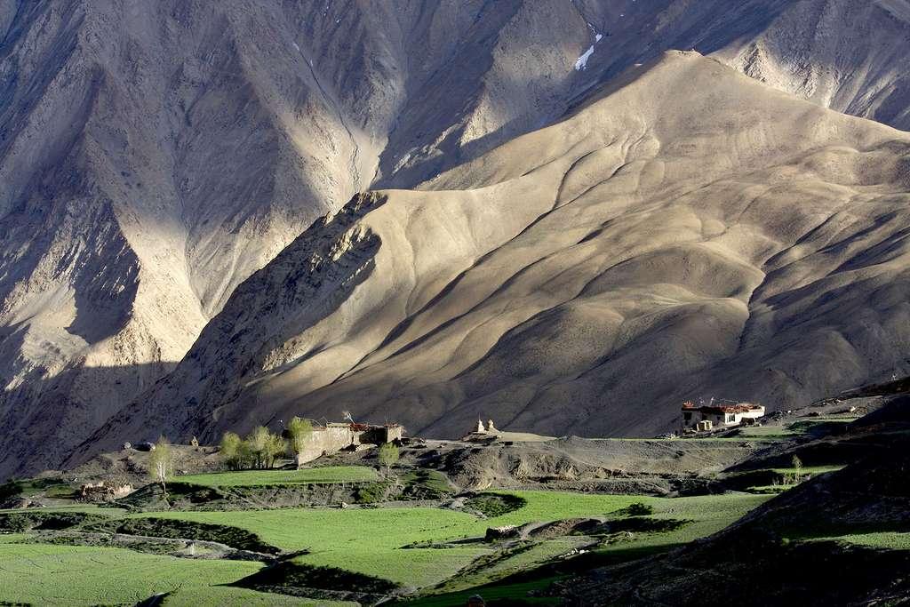 Le village reculé de Lingshed dans le Zanskar
