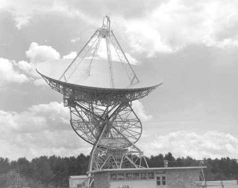 Cliquer pour entendre les écoutes de Seti. © SETI League photo, used by permission