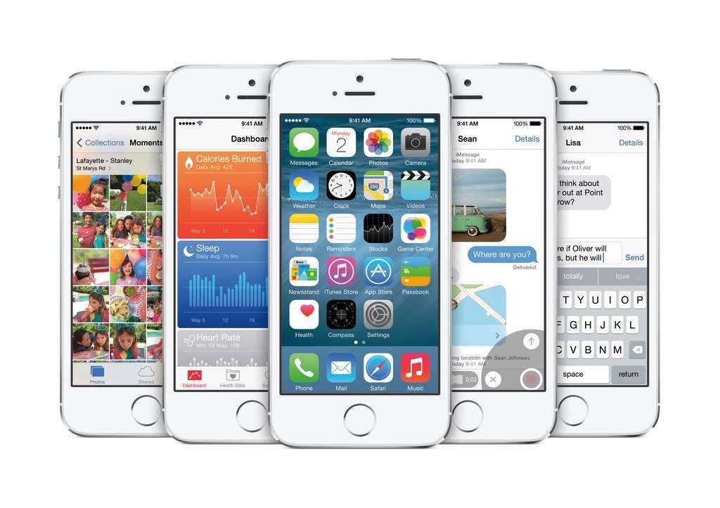 iOS 8 suit l'air du temps en intégrant une fonction de messages éphémères à la façon de Snapchat dans l'application Messages. Autre nouveauté marquante, l'arrivée d'une application Santé chargée de centraliser les données provenant d'accessoires et services de fitness et de santé. © Apple