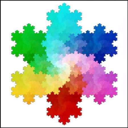 Les fractales sont des objets mathématiques étudiés par la géométrie. © Solkoll Domaine public