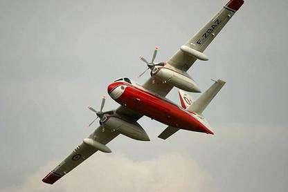 Seuls quelques pilotes auront la chance de voler en trackers pour combattre les feux de forêt. © Tracker-France - Tous droits de reproduction interdits