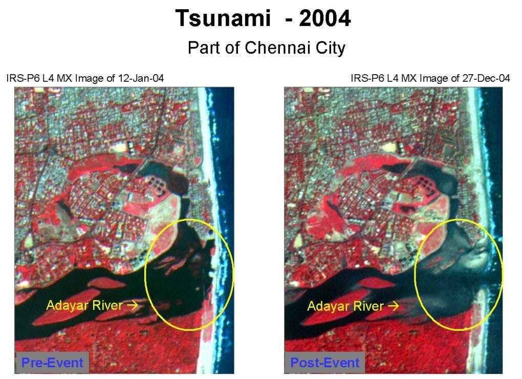 Chennai : avant et après